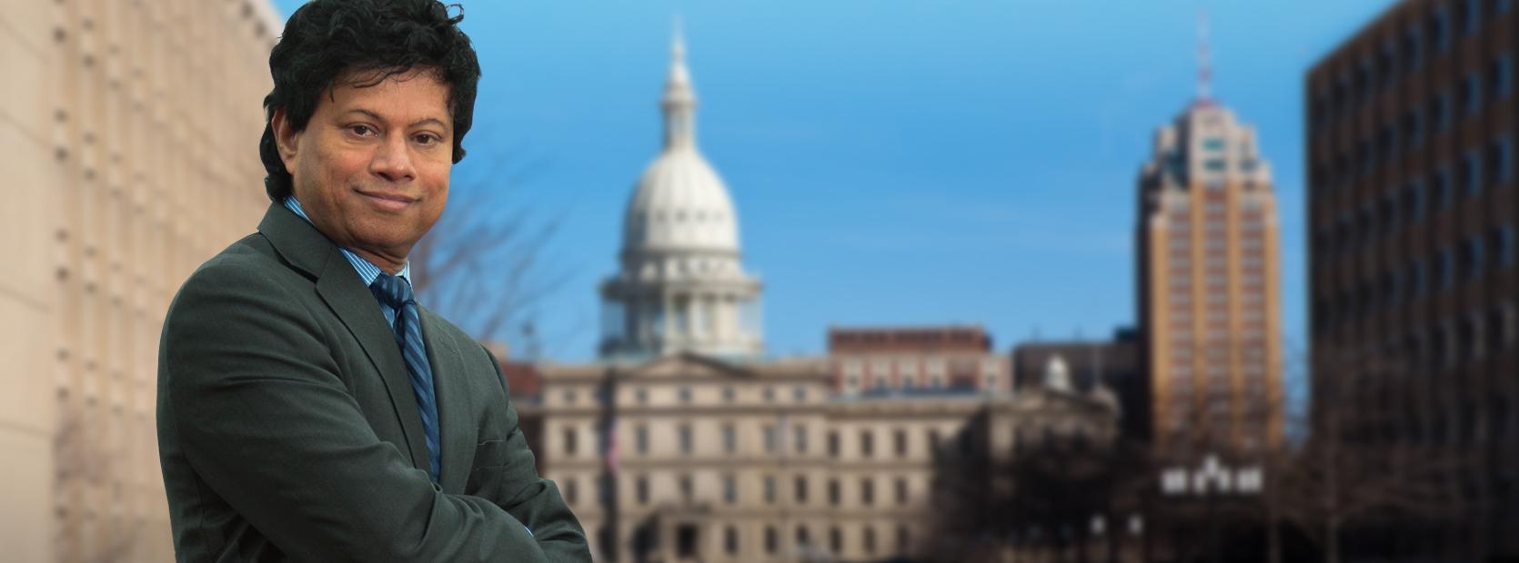 Shri Thanedar for Michigan Governor